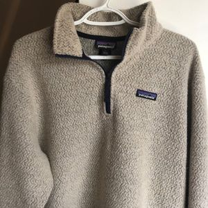 Patagonia Mens woollyester Large Pullover